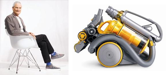 Diseñador de producto o diseñador industrial James Dyson.