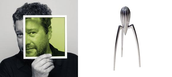 Diseñador de producto o diseñador industrial Philippe Starck.